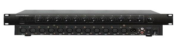 ht-1200 十二路幻象供电话筒混音器